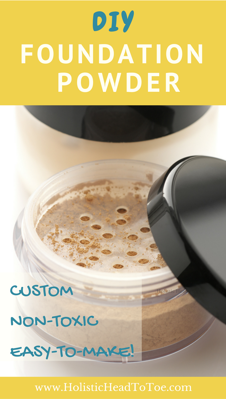 Custom Diy Foundation Powder Just 6 Ingredients Holistic Head To Toe